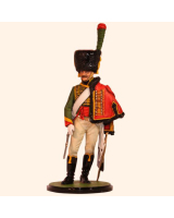 JW80 09 Chasseur a Cheval of the Guard Trooper 1812 Painted