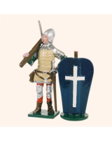 MS1-5 Toy Soldier Set French of Crossbowmen The Battle of Agincourt Kit