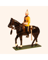 M201 Toy Soldiers Set Officer Skinners Horse 1901 Painted