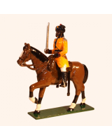 M202 Toy Soldiers Set Sergeant Skinners Horse 1901 Painted