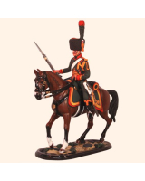 M54 58 Trooper Chasseurs a Cheval of The Guard Painted