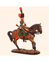 M54 64 Trooper Chasseurs a Cheval of The Guard Painted