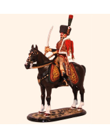 M54 59 Officer Chasseurs a Cheval of the Guard – Full Dress Painted