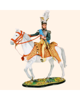 M80 02 Murat King of Naples 1808 Uniforms of the Royal Guard Chevaulegers of Naples Painted