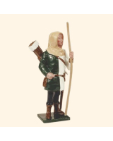 MS2-5 Toy Soldier Set English Archer With hood The Battle of Agincourt Kit