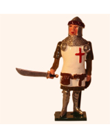 MS3-1 Toy Soldier Set Officer Men at Arms The Battle of Agincourt Kit