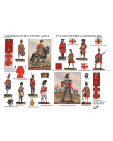 Charles C. Stadden Plate - No.001 Uniforms of the British Army -The Grenadier Guards 1660 - 1815 Part I