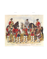 Plate ToL No.001 Types of the British Army in 1750