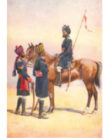 Postcard No.013 Ratore Rajput 34th Prince Albert Victor's Own Poona Horse