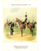 Postcard No.025 Prince of Wale's Own Yorkshire Hussars