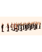 RMB Toy Soldiers set Her Majesty's Royal Marines Band 21 figures Painted