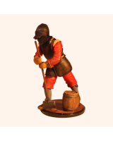 Sqn80 059 Engineer Seige Armour English Civil War circa 1650 Painted