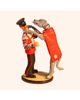 Sqn80 077 Irish Guards Mascot and Handler 1985 Painted