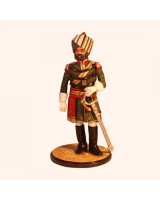 Sqn80 086 Officer Indian 23rd. Cavalry 1887 Painted