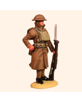 T54 632 Infantryman in greatcoat Painted