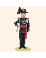 T54 S11 T.S Officer Norwegian Foot Guard Full Dress Painted