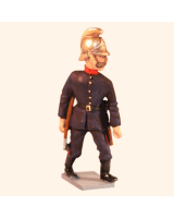 VSI03 T.S. Fireman with axe Fire Brigade Painted