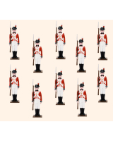 ToL 031 – Ten Marines- Royal Navy Napoleonic Wars – Size 54mm Painted in Gloss