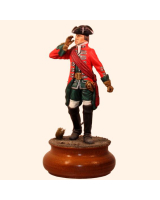 ToL 002 – Officer 4th  Dragoon c.1745 – Size 90mm Painted