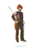 Plate ToL No.002 Carabinieri Reali - Royal Carbineers Captain, full dress