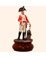 ToL 003 – Officer Royal Marines 1780s – Size 90mm Painted