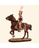 ToL 009 – Lancer Officer 1st Regiment Polish Guard– Size 54mm Painted