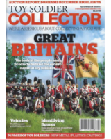 Toy Soldier Collector Magazine Issue 57 Great Britains, We look at the people and products