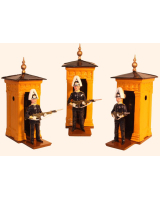 1002 Toy Soldier Foot Guard Guard Dress Full Dress with sentry box Painted