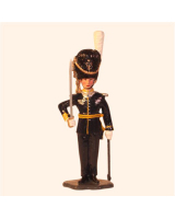 1006 Toy Soldier Set Officer Grenadier Regiment- Svea Life Guard I1 Painted