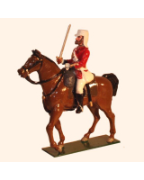 1102 Toy Soldiers Set Officer Mounted 42nd Highlander Painted