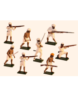 1105 Toy Soldiers Set The Indian Rebellion Painted