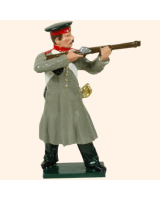 104 3 Toy Soldier Private firing Russian Infantry Kit