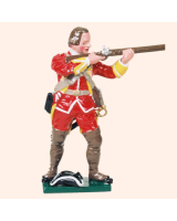 601 12 Toy Soldier Private firing British Infantry Kit