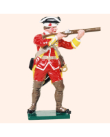 601 13 Toy Soldier Private firing British Infantry Kit