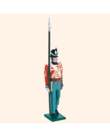 B1 06 Toy Soldier Sergeant Marching British Line Infantry Kit