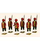 008 Toy Soldiers Set 15th Bengal Infantry Ludhiana Sikhs Painted