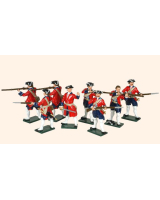 608 Toy Soldiers Set Swiss Regiment Karrer Painted