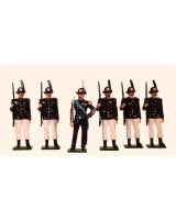068 Toy Soldiers Set Italian Alpini Battalions 1900 Painted