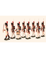 769 Toy Soldiers Set French Grenadiers of the Guard Painted