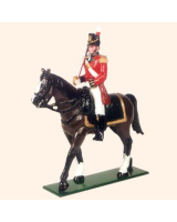 B1M Toy Soldiers Set A Mounted Officer British Infantry of the Line Painted