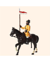 ToL 034 - M203 Toy Soldiers Set Trooper Skinners Horse 1901 Painted