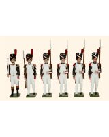 N1C Toy Soldiers Set French Grenadiers of the Guard Painted