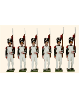N1D Toy Soldiers Set Six Grenadiers French Grenadiers of the Guard Painted
