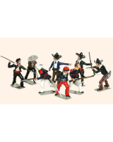 T103 Toy Soldiers Set Camerone Danjous Last stand Painted