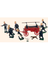 VS1A Toy Soldiers Set The Volunteer Fire Brigade Painted