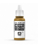 AV Vallejo Model Color VAL801 - Metallic Brass - Paint
