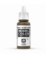 AV Vallejo Model Color VAL826 - German Cam Medium Brown - Paint