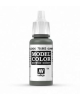 AV Vallejo Model Color VAL863 - Metallic Gunmetal Grey - Paint