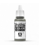 AV Vallejo Model Color VAL865 - Metallic Oily Steel - Paint