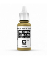 AV Vallejo Model Color VAL878 - Metallic Old Gold - Paint